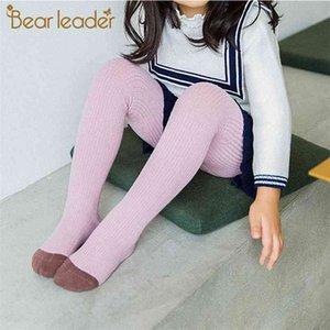 Babies Fashion Spring Autumn Baby Legginigs Cute Girl Kids Warm Pantyhose Stockings Simple Style Twisted Legging 210414