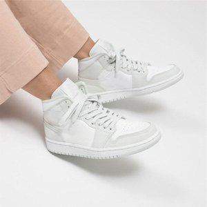 Buoni jumpmen jumpmen 1 stivali media scarpe abete rosso Aura cv con formatori bianchi designer sneaker schoenen taglia 36-46