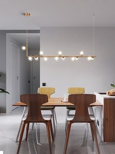Pendant Lamps Nordic Restaurant Chandelier Light Luxury Magic Bean Front Desk Modern Minimalist Bar Counter Dining Lamp