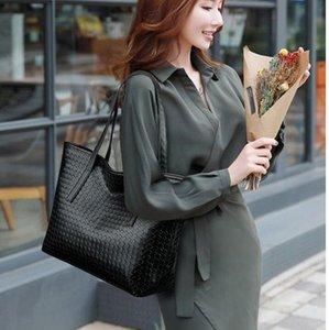 2021 Новая женская сумка Checked Contrast Tote Bag Универсальная пригородная сумка Женская Случайная сумка