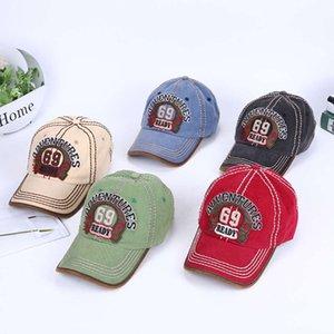 Nuovo berretto da baseball di Trend Straight Trend ricamato 69 Lettera Calda Cappello da parasole da ombrellone
