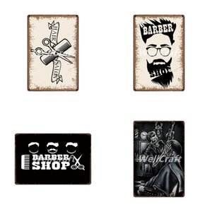 Wellcraft Barber Shops Metal Signs Wall Poster Plaque Wholesale Custom Funny Iron Painting Antique Bar Store Decor Fg-5123 Q0331