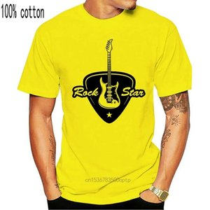 polo Rock guitar Men Punk Style T-shirt White Grey Tops Teas Simple Streetwear Custom students Short clothing Cotton