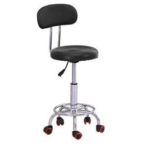 Hydraulique Réglable Hauteur Salon Tabouret De Massage Spa Rolling Chaise Roll Dest