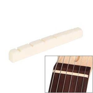 New Guitar Part 42mm   1.65 In Bone Nut for 6 Strings Stratocaster Tele ST TL