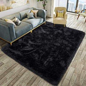 Fluffy Soft Kids Home Carpet Anti-Skid Large Fuzzy Shag Fur Area Rugs Modern Indoor Home Living Room Carpets Children Bedroom Rug