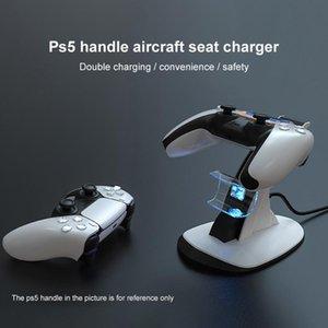 تحكم ألعاب المقود ل ps5 تحكم شاحن مزدوج USB شحن سريع حوض محطة الوقوف نوع-C ouput 5 Sense Accessori