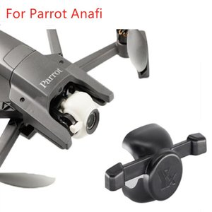 Lens Caps Camera Dust Cover Protector Fixator Buckle Proof For Parrot ANAFI Drone Quadcopter Gimbal Protection Safety Guard Acc