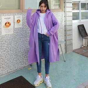 Women's Trench Coats 2021 Korea Styles Summer Fashion Women Clothing Large Size Knee Length Batwing Sleeves Loose Cardigan V771