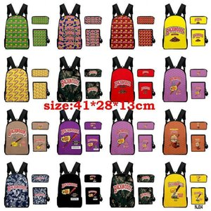 14styles 3pcs set Backwoods 5 Honey Berry Cigars Purple Backwoods Camouflage Camo Army Green Backpacks For Teens Penbags qylQDp