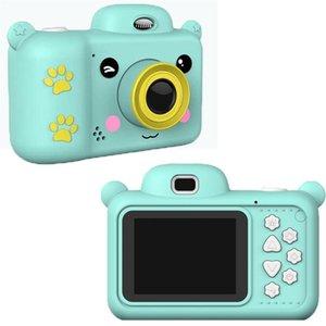 Мини Детская Детская камера Full HD 1080P Цифровой 2,4-дюймовый экран экрана с 32G SD-картой Видео Видеокомординары подарок для камер