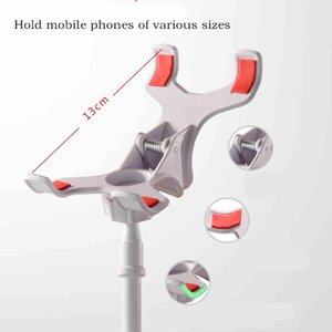 Universal Mobile Phone Holder 80cm Long Arm Lazy Bed Desktop for ipad Tablet PC Stand Extendable mounts