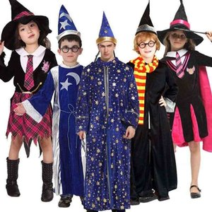 Halloween children's costume wizard suit dance performance magician Harry Potter Costume