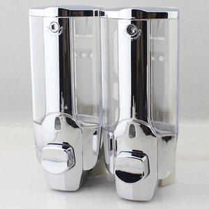 New Single Double Shower Soap Dispenser Wall Mounted Liquid Soap Shampoo Dispenser dispensador de jabon distributeur de savon