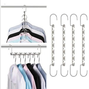 Hangers Racks Housekeeping Home Garden Drop Folding Metal Clothing Storage Organization Wardrobe Clothes Rack ZWL313