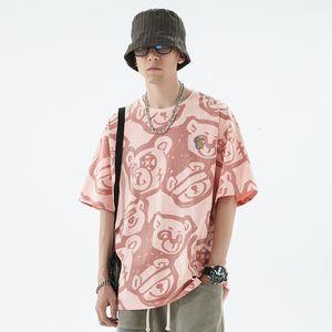 Luxury T-shirts 2021 Summer Short Sleeve T-shirt Men's Fashion Brand Loose Youth Trend Hip Hop