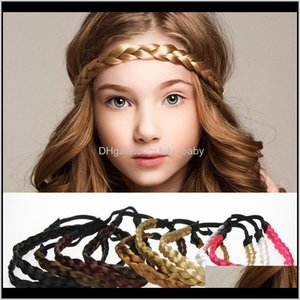 Tools Products Drop Delivery 2021 1 Pc Fashion Women Headband Elastic Band Solid Wig Hair Accessories Braid Headwear Adjustable Size Izgxc