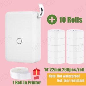 Printers Niimbot D110 Special Price Label Portable Smart Maker Mini Cute Clear Inkless Sticker Rich Templates Symbols Font Name Tag