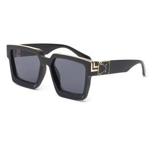 Handsome summer designer top quality unisex sunglasses luxury glasses trendy personality net celebrity