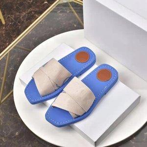 2021 latest fashion luxury women's designer slippers letter cotton sandals summer beach children flat skateboard shoes high quality size 35-41