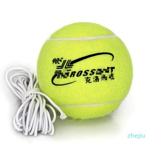1 Piece Professional Tennis Training Practice Ball With 3.8m Elastic Rope Rubber Ball For Beginner