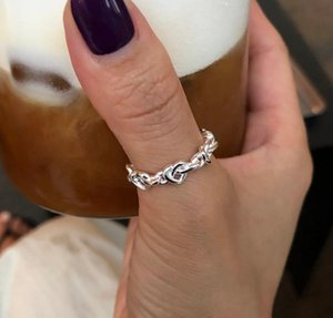 Cluster Rings 925 Sterling Silver Minimalist Adjustable Gifts For Women Designer Gothic Engagement 2021 Trend Accessories Fine Jewellery
