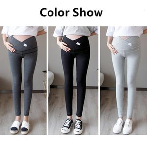 Maternity Bottoms 2021 Spring Autumn Pregnancy Mama Clothes Warm Cotton Fashion Of Low Waist Pregnant Women Tothe Belly Leggings