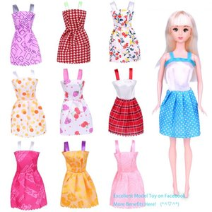 29cm& 11 Inches Doll Fashion Short Skirt& Princess Dress, Girl Toy& Doll Accessories,16 Style Clothes, Party Christmas Kid Birthday Gift,2-2