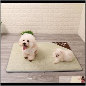 Pet Dog Summer Cooling Mat Cat Ice Cushion Blanket Breathable Beds Sleeping Self Mattress Pad For S M L Dogs Kennels & Pens N24Zv 6X8Yn