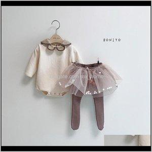 Layette Baby Girl Rompertutu Skirt Legging Pant Pink Cute Lovely Toddler Spring Outfit Set Mi7Ja 10Ryg