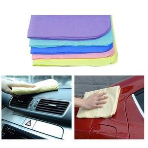 1 قطعة سيارة غسل القماش السيارات الجسم الزجاج الأمامي منشفة pva chamois التفصيل تنظيف المنزل غسل أدوات نظافة الإسفنج