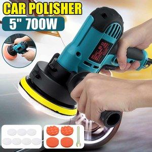 Doersupp P 5 700W 3700R / мин Мини Электрический автомобильный полировщик Polisher Buffer Polishing Gronge Pads Kit Tools Tool Sanding Waxing Tools