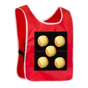 Kindergarten Children's Dodge Jerseys Vest Sticky Lost Ball Parent Child Outdoor Games Toys 2ZQU