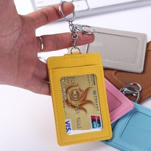 Card Holders 1PC Small Wallet Credit Multi-Card Case PU Leather Function Ultra-Thin ID Bank Holder Badge Cover Bag