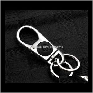 Keychains Mens Motive Chain Chaveiro Metal Car Ring Multifunctional Tool Key Holder Led Bottle Opener Keychain Llaveros I9Dab Bnpae