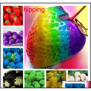 Other Supplies Patio Lawn Drop Delivery 2021 200 Pcs Stberry Seeds Indoor Sementes Giant Climbing Sweet Fruit Home Garden Bonsai Potted Plant