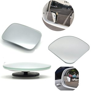 Car-styling Blind Spot Mirror Auto Motorcycle Car Rear View Mirror Extra Wide Angle Adjustable Rearview Mirror 2Pcs
