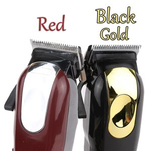 8148 ماجيك المعادن الشعر المقص الكهربائية الحلاقة الرجال الصلب رئيس ماكينة حلاقة الشعر المتقلب الذهب الأحمر الاتحاد الأوروبي الولايات المتحدة في المخزون