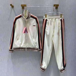 Chándal de mujer Terry Hoodie con juegos de pantalones impresos para lady track traje moda chaqueta de alta calidad conjunto de dos piezas tamaño s-l