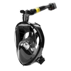 Полное лицо подводное плавание маска для подводного плавания 360 градусов повернуть подводное плавание подводное плавание для подводного плавания набор дайвинг оборудование BBYKZS Hotstore2010