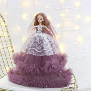 45cm Cartoon Dolls Girl Clothes Princess Dress Inspiring Toy Collector Toys For Girl Gift Birthday Present