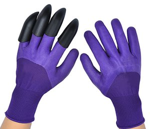 Gardening Gloves Garden Tools Waterproof Breathable Available All Seasons Garden Gloves With Claws fFor Digging Planting Weeding Seeding HH21-196