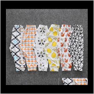 Clothes Pp Ins Kids Xmas Harem Toddler Lemon Leggings Boys Cotton Fashion Pants Girl Tights Dinosaur Fruit Pant Foqmp 2I4Ez