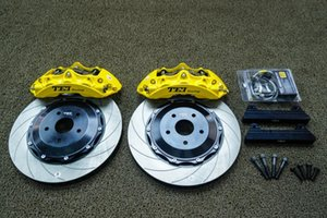 Front Brake Caliper Kit with 378x32mm Vented Disc Rotor For HIGHLANDER 2009-2021 19 20