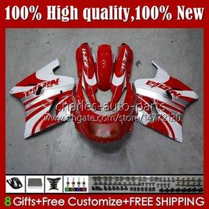 Body Kit For KAWASAKI NINJA ZZR 1100 CC ZZR1100 ZX11 R 1990 1991 1992 1993 1994 1995 31HC.60 red white new ZX 11 R 11R ZX-11 R ZZR-1100 ZX-11R ZX11R 96 97 98 99 00 01 OEM Fairing