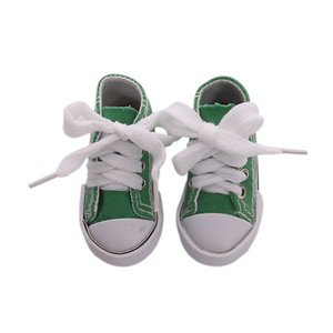 1 Pair Denim Canvas Shoes For BJD Doll Toy Mini Doll Shoes for Sharon Doll Boots Dolls Sneackers Accessories 7.5cm 1348 Y2