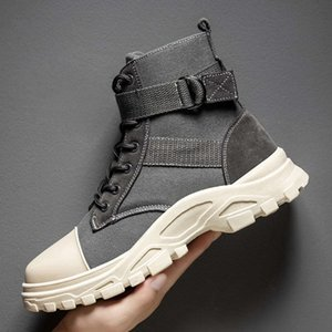 C3W7 Casual shoes C3W7 Canvas Winter Man Military boot Slip Resistant Martin Army Mens Soldier Ankle Male boots Webbing Safety Work Men F312 0Y55