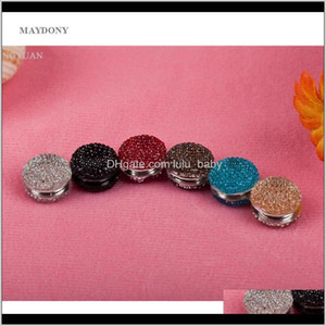 Hair Accessories 12Pcs Magnetic Brooches Headscarf Abaya Clasp Hijab Clips Shawl Magnet Scarf Pin Uebty Bl52H