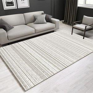 Carpets Nordic Minimalist Modern Door Mats Living Room Coffee Table Sofa Non-slip Carpet Bedroom Bedside Rectangular Floor