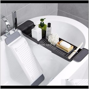 Toilet Paper Holders Tub Bathtub Shelf Caddy Shower Expandable Holder Rack Storage Tray Over Bath Multifunctional Organizer A10 19 Dro 1Y9Sw